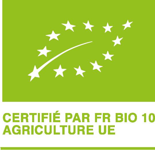 Logo Certifié par FR BIO UE